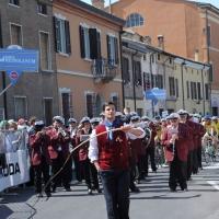 Foto Nicoloro G. 19/05/2011 Ravenna Dodicesima tappa del Giro d' Italia Castelfidardo-Ravenna di 184 Km. nella foto Gli SCIUCAREN… Gli inconfondibili schioccatori di fruste