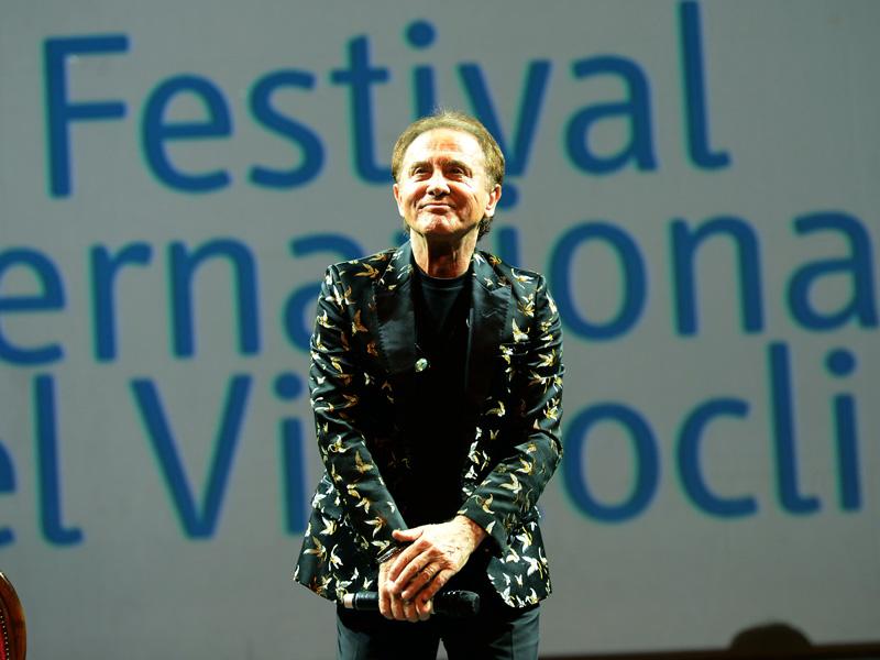 Foto Nicoloro G.   13/10/2019   Ravenna   Terza edizione di ' Imaginaction ' ,  Festival Internazionale dei videoclip, che ha visto la partecipazione di diversi artisti. nella foto Roby Facchinetti.