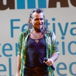 Foto Nicoloro G.   13/10/2019   Ravenna   Terza edizione di ' Imaginaction ' ,  Festival Internazionale dei videoclip, che ha visto la partecipazione di diversi artisti. nella foto Piero Pelu'.