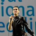 Foto Nicoloro G.   13/10/2019   Ravenna   Terza edizione di ' Imaginaction ' ,  Festival Internazionale dei videoclip, che ha visto la partecipazione di diversi artisti. nella foto Elisa.