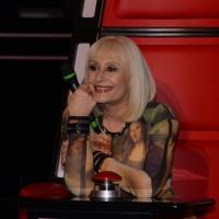 """Foto Nicoloro G.  10/03/2014  Milano   Presentazione della seconda edizione della trasmissione di Rai 2 """" The Voice of Italy """". nella foto Raffaella Carrà."""