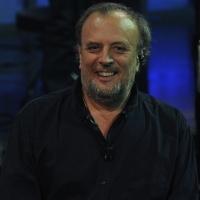 """Foto Nicoloro G. 23/01/2012 Milano Trasmissione televisiva su Rai3 """" Che tempo che fa """" condotta da Fabio Fazio. nella foto Ivano Fossati"""