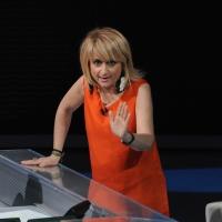 """Foto Nicoloro G. 29/01/2012 Milano Trasmissione televisiva su Rai3 """" Che tempo che fa """" condotta da Fabio Fazio. nella foto Luciana Littizzetto"""