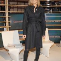 """Foto Nicoloro G. 28/01/2011 Milano Trasmissione televisiva di Rai2 """" L' ultima parola """" condotta da Gianluigi Paragone. nella foto Laura Ravetto"""