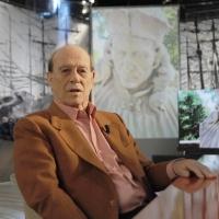 """Foto Nicoloro G. 10/12/2010 Milano, Puntata della trasmissione """" Invasioni barbariche """"  su La7 e condotta da Daria Bignardi. nella foto Giorgio Bocca"""