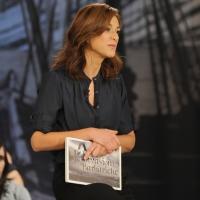 """Foto Nicoloro G. 10/12/2010 Milano, Puntata della trasmissione """" Invasioni barbariche """"  su La7 e condotta da Daria Bignardi. nella foto Daria Bignardi"""