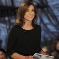 """Foto Nicoloro G. 11/02/2011 Milano Trasmissione televisiva su La7 """" Invasioni barbariche """" condotta da Daria Bignardi. nella foto Daria Bignardi"""