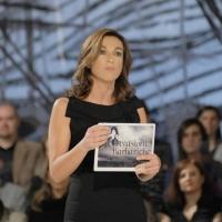 """Foto Nicoloro G. 12/11/2010 Milano, Trasmissione televisiva """"Le Invasioni barbariche"""" in programmazione su La7 e condotta da Daria Bignardi. nella foto Daria Bignardi"""