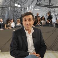 """Foto Nicoloro G. 12/11/2010 Milano, Trasmissione televisiva """"Le Invasioni barbariche"""" in programmazione su La7 e condotta da Daria Bignardi. nella foto Romolo Bugaro"""