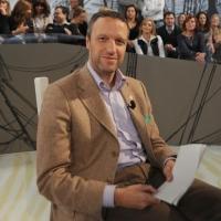 """Foto Nicoloro G. 12/11/2010 Milano, Trasmissione televisiva """"Le Invasioni barbariche"""" in programmazione su La7 e condotta da Daria Bignardi. nella foto Flavio Tosi"""