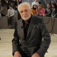 """Foto Nicoloro G. Milano 17/12/2010 Ultima puntata dell' edizione 2010 della trasmissione su La7 """" Invasioni barbariche """". nella foto Ugo Pagliai"""