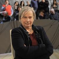 """Foto Nicoloro G. Milano 17/12/2010 Ultima puntata dell' edizione 2010 della trasmissione su La7 """" Invasioni barbariche """". nella foto Lucia Rizzi"""