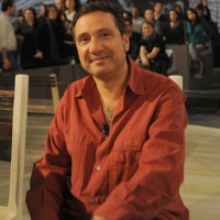 """Foto Nicoloro G. 18/03/2011 Milano Trasmissione televisiva su La7 """" Invasioni barbariche """" condotta da Daria Bignardi. nella foto Mario Tozzi"""