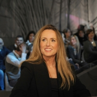 """Foto Nicoloro G.  19/11/2010 Milano, Trasmissione televisiva """"Le Invasioni barbariche"""" in programmazione su La7 e condotta da Daria Bignardi. nella foto Maria Luisa Busi"""