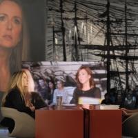 """Foto Nicoloro G.  19/11/2010 Milano, Trasmissione televisiva """"Le Invasioni barbariche"""" in programmazione su La7 e condotta da Daria Bignardi. nella foto Maria Luisa Busi – Daria Bignardi"""