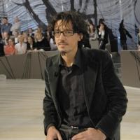 """Foto Nicoloro G.  19/11/2010 Milano, Trasmissione televisiva """"Le Invasioni barbariche"""" in programmazione su La7 e condotta da Daria Bignardi. nella foto Marco Rovelli"""
