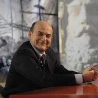 """Foto Nicoloro G. 21/01/2011 Milano Trasmissione televisiva su La7 """" Invasioni barbariche """" condotta da Daria Bignardi. nella foto Pier Luigi Bersani"""