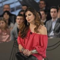 """Foto Nicoloro G. 21/01/2011 Milano Trasmissione televisiva su La7 """" Invasioni barbariche """" condotta da Daria Bignardi. nella foto Alba Parietti"""
