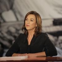 """Foto Nicoloro G. 28/01/2011 Milano Trasmissione televisiva su La7 """" Invasioni barbariche """" condotta da Daria Bignardi. nella foto Daria Bignardi"""