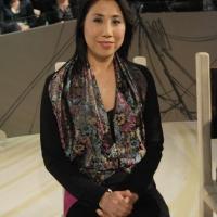 """Foto Nicoloro G. 28/01/2011 Milano Trasmissione televisiva su La7 """" Invasioni barbariche """" condotta da Daria Bignardi. nella foto Hui Zou"""