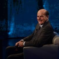 """Foto Nicoloro G.  01/02/2015  Milano    Trasmissione televisiva su Rai 3 """" Che tempo che fa """".  nella foto l' onorevole Pier Luigi Bersani."""