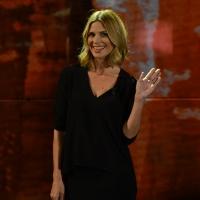 Foto Nicoloro G. 01/11/2015  Milano   Trasmissione televisiva su Rai 3 ' Che tempo che fa '. nella foto Filippa Lagerback.