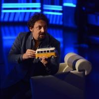 Foto Nicoloro G.   01/11/2015  Milano   Trasmissione televisiva su Rai 3 ' Che tempo che fa '. nella foto l' attore Enrico Brignano.