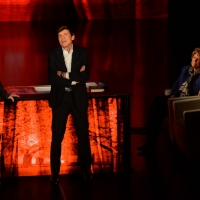 Foto Nicoloro G.  01/11/2015  Milano   Trasmissione televisiva su Rai 3 ' Che tempo che fa '. nella foto Fabio Fazio con la scrittrice Dacia Maraini e il cantante Gianni Morandi.