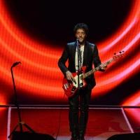 """Foto Nicoloro G.   03/05/2015  Milano   Trasmissione televisiva su Rai 3 """" Che tempo che fa """". nella foto il cantautore Max Gazzè."""