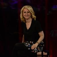 """Foto Nicoloro G.   03/05/2015  Milano   Trasmissione televisiva su Rai 3 """" Che tempo che fa """". nella foto Luciana Littizzetto."""