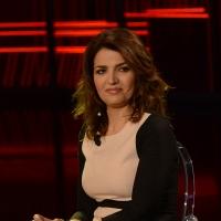 Foto Nicoloro G. 09-01-2016 Milano Trasmissione televisiva su Rai 3 ' Che fuori tempo che fa '. nella foto l' attrice Tosca D' Aquino.