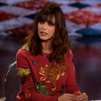 09-01-2016 Milano Trasmissione televisiva su Rai 3 ' Che fuori tempo che fa '. nella foto l' ex miss Italia Miriam Leone.
