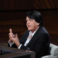 """Foto Nicoloro G. 09/04/2011 Milano Trasmissione televisiva su Rai3 """" Che tempo che fa """" condotta da Fabio Fazio. nella foto Fabio Vacchi"""