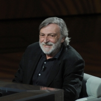 """Foto Nicoloro G. 09/04/2011 Milano Trasmissione televisiva su Rai3 """" Che tempo che fa """" condotta da Fabio Fazio. nella foto Gino Strada"""