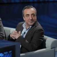 """Foto Nicoloro G. 09/04/2011 Milano Trasmissione televisiva su Rai3 """" Che tempo che fa """" condotta da Fabio Fazio. nella foto Silvio Orlando"""
