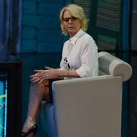 """Foto Nicoloro G. 10/03/2013 Milano Trasmissione televisiva su Rai3 """" Che tempo che fa """" condotta da Fabio Fazio. nella foto Maria De Filippi"""