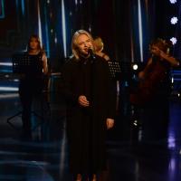 Foto Nicoloro G. 10-01-2016 Milano Trasmissione televisiva su Rai 3 ' Che tempo che fa '. nella foto la cantante Lapsley.