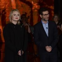 Foto Nicoloro G. 10-01-2016 Milano Trasmissione televisiva su Rai 3 ' Che tempo che fa '. nella foto Fabio Fazio e la cantante Lapsley.