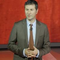 """Foto Nicoloro G. 15/10/2011 Milano Trasmissione televisiva su Rai3 """" Che tempo che fa """" condotta da Fabio Fazio. nella foto Fabio Fazio"""