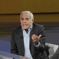"""Foto Nicoloro G. 16/10/2011 Milano Trasmissione su Rai3 """" Che tempo che fa """" condotta da Fabio Fazio. nella foto Teo Teocoli"""