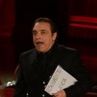Foto Nicoloro G.   17/10/2015  Milano    Trasmissione televisiva su Rai 3 ' Che fuori tempo che fa '. nella foto l' attore Nino Frassica.