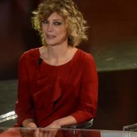 Foto Nicoloro G.   17/10/2015  Milano    Trasmissione televisiva su Rai 3 ' Che fuori tempo che fa '. nella foto l' attrice Margherita Buy.