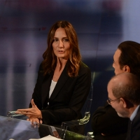 Foto Nicoloro G.   17/10/2015  Milano    Trasmissione televisiva su Rai 3 ' Che fuori tempo che fa '. nella foto la regista Maria Sole Tognazzi.