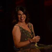 Foto Nicoloro G.   17/10/2015  Milano    Trasmissione televisiva su Rai 3 ' Che fuori tempo che fa '. nella foto l' attrice Geppi Cucciari