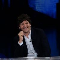 Foto Nicoloro G.   18/10/2014   Milano    Trasmissione televisiva su Rai 3 ' Che tempo che fa '. nella foto l' attore Fabio De Luigi.