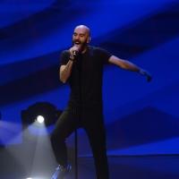 Foto Nicoloro G.   18/10/2015    Milano   Trasmissione televisiva su Rai 3 ' Che tempo che fa '. nella foto sam Harris la voce degli X Ambassadors.
