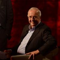 Foto Nicoloro G.   18/10/2015    Milano   Trasmissione televisiva su Rai 3 ' Che tempo che fa '. nella foto Walter Veltroni ospite in veste di scrittore.