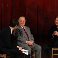 """Foto Nicoloro G. 19/11/2012 Milano Trasmissione televisiva su Rai3 """" Che tempo che fa """" condotta da Fabio Fazio. nella foto Fabio Fazio – Daniel Barenboim – Zubin Metha"""