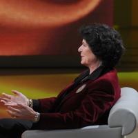 """Foto Nicoloro G. 19/03/2011 Milano Trasmissione televisiva su Rai3 """" Che tempo che fa """" condotta da Fabio Fazio. nella foto Ilaria Borletti Buiton"""