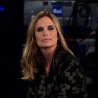 """Foto Nicoloro G.   19/10/2014   Milano   Trasmissione televisiva su Rai 3 """" Che tempo che fa"""". nella foto Filippa Lagerback."""